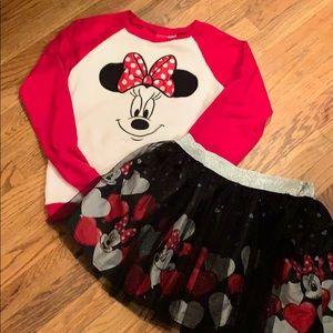 ❤️❤️SALE!! ❤️Disney Minnie Mouse costume XL 14-16